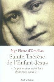 Thérèse de l'enfant-Jésus, le pur amour est-il dans mon coeur ? - Intérieur - Format classique
