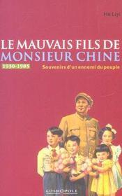 Mauvais fils de monsieur chine (le) - Intérieur - Format classique