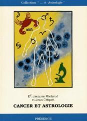 Cancer et astrologie - Couverture - Format classique