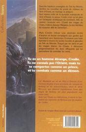 Le monde de recluce 4 - les tours du crepuscule 1 - 4ème de couverture - Format classique