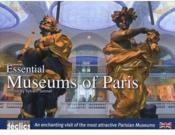 Essential museums of Paris - Couverture - Format classique