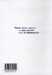 Abécédaire de voyage - 4ème de couverture - Format classique