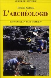 L'Archeologie - Couverture - Format classique