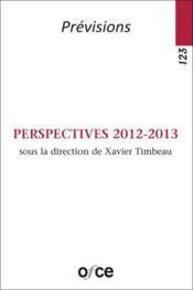 Perspectives 2012-2013 - Couverture - Format classique