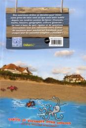 Cahier de vacances pour adultes ; été 2013 - 4ème de couverture - Format classique
