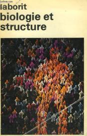 Biologie Et Structure. Collection : Idees N° 156 - Couverture - Format classique