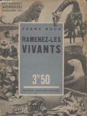 Ramenez Les Vivants. - Couverture - Format classique