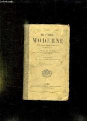 Histoire Moderne Depuis Schisme D Occident Jusqu A 1789. Tome 2. Livre Quatrieme Second Age De La Reforme. - Couverture - Format classique