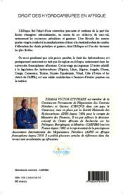 Le droit des hydrocarbures en Afrique ; recueil commenté de textes - Couverture - Format classique