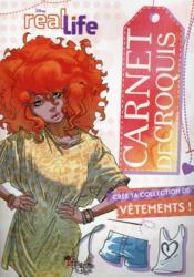 Real life ; Amber ; carnet de croquis - Couverture - Format classique