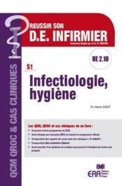 Infectiologie - hygiène - Couverture - Format classique
