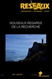 Revue Reseaux ; Nouveaux Regards De La Recherche - Couverture - Format classique