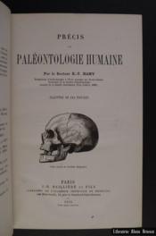 Précis paléontologie humaine - Couverture - Format classique