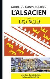 L'alsacien pour les nuls (2e édition) - Couverture - Format classique