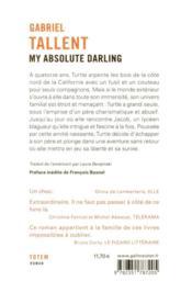 My absolute darling - 4ème de couverture - Format classique