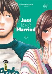 Just not married t.2 - Couverture - Format classique