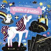 Pochette cartes à gratter ; licornes et chevaux - Couverture - Format classique