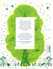La chanson de l'arbre - 4ème de couverture - Format classique