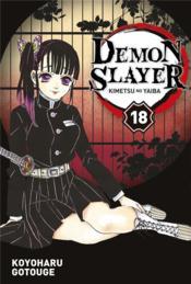 Demon slayer T.18 - Couverture - Format classique