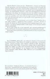 L'ecosophie de charles fourier ; deux textes inedits - 4ème de couverture - Format classique