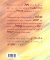 Plein de crepes - 4ème de couverture - Format classique