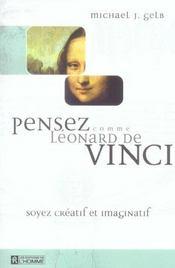 Pensez comme Léonard de Vinci ; soyez créatif et imaginatif - Intérieur - Format classique