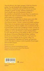 Les errances d'Oisin - 4ème de couverture - Format classique