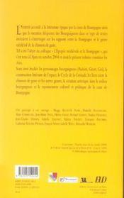 L'epopee medievale et la bourgogne - 4ème de couverture - Format classique