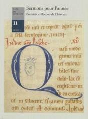 Sermons pour l'année ; première collection de Clairvaux - Couverture - Format classique
