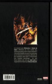 Wolverine evolution - 4ème de couverture - Format classique