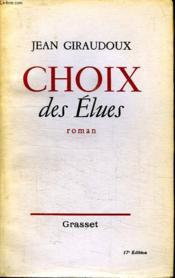 Choix Des Elues. - Couverture - Format classique
