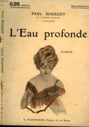 L'Eau Profonde. Collection : Select Collection N° 81 - Couverture - Format classique