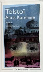 Litterature et civilisation - t01 - anna karenine - Couverture - Format classique