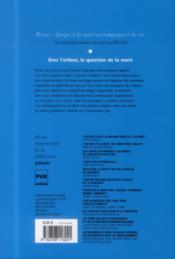 REVUE JALMALV N.114 ; l'enfant et la mort - 4ème de couverture - Format classique
