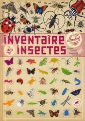 Inventaire illustré des insectes - Couverture - Format classique