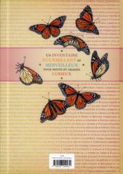 Inventaire illustré des insectes - 4ème de couverture - Format classique