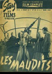 Stars Et Films - N°21 - Les Maudits - Couverture - Format classique