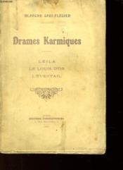 Drames Karmiques - Leila - Le Louis D'Or - L'Eventail - Couverture - Format classique