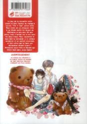 Junjo romantica T.16 - 4ème de couverture - Format classique