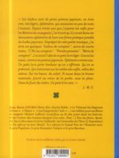 Haïkus de comptoir - 4ème de couverture - Format classique