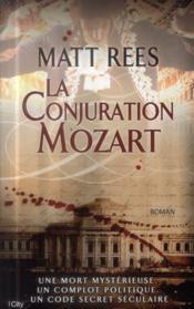 La conjuration Mozart - Couverture - Format classique