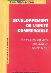 Developpement de l'unite commerciale - Intérieur - Format classique