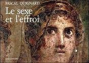 Le sexe et l'effroi - Intérieur - Format classique