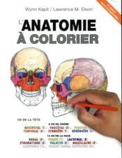 Anatomie à colorier (4e édition) - Couverture - Format classique