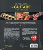 Apprendre la guitare (tout seul) ! un cours complet, progressif et entièrement visuel - 4ème de couverture - Format classique