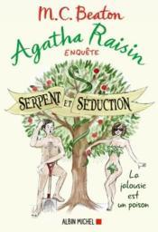 Agatha Raisin enquête T.23 ; serpent et séduction - Couverture - Format classique