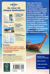 Thaïlande, îles et plages (7e édition) - 4ème de couverture - Format classique