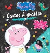 Peppa Pig ; cartes à gratter - Couverture - Format classique
