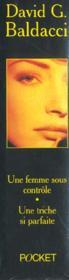 Coffret David Baldacci ; Une Femme Sous Controle ; Une Triche Si Parfaite - 4ème de couverture - Format classique