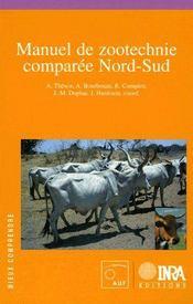 Manuel de zootechnie comparée Nord-Sud - Couverture - Format classique